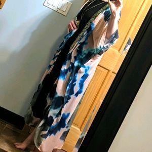 Suki Shear Kimono Cover-up OS